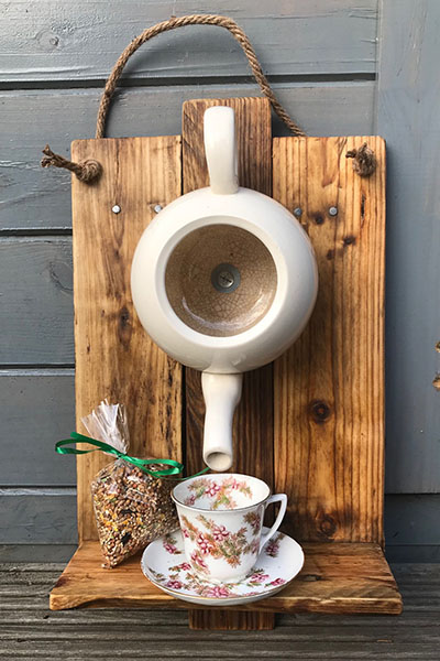 Teapot Bird House